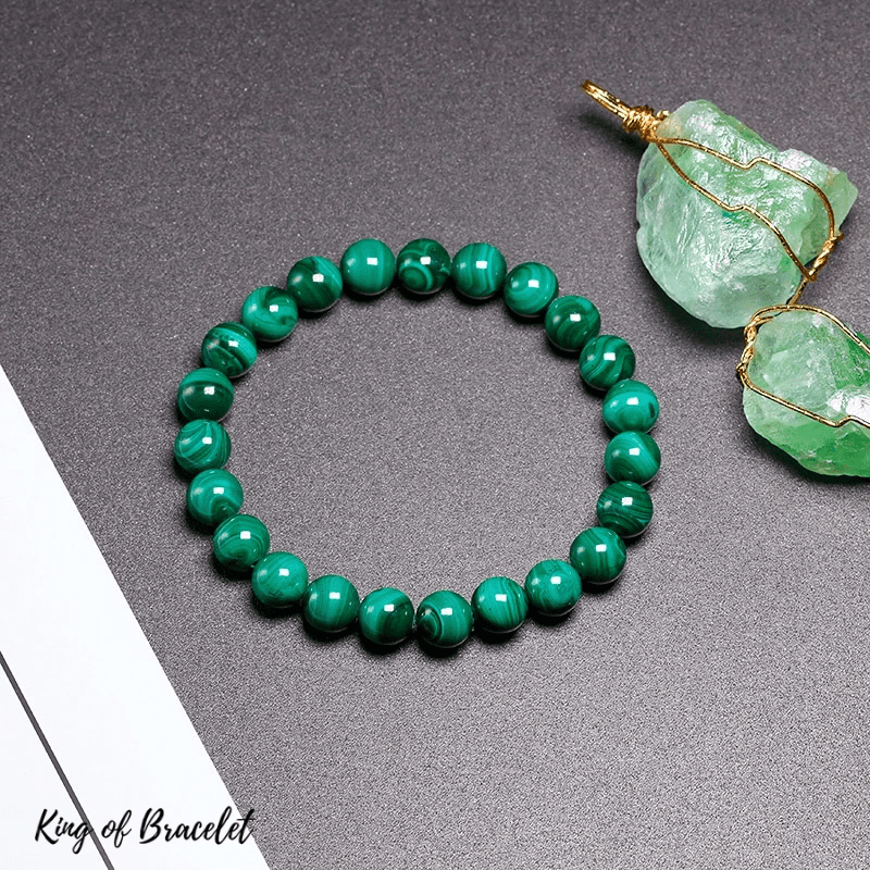 Bracelet en Malachite Qualité AAA+ - King of Bracelet