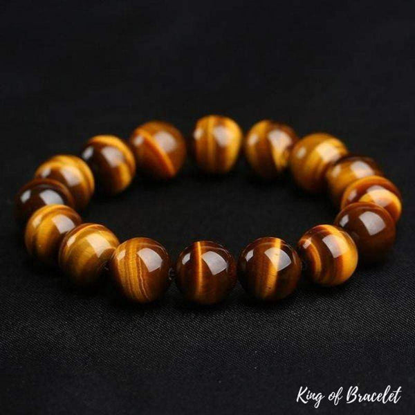 Bracelet Oeil de Tigre 12mm - King of Bracelet