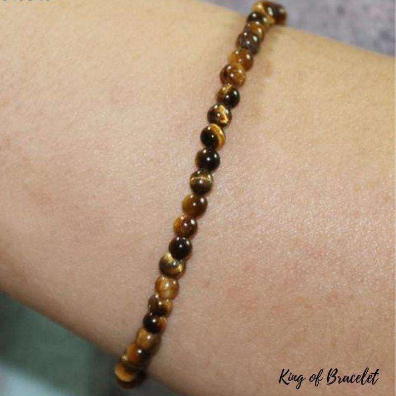 Bracelet Oeil de Tigre 4mm - King of Bracelet