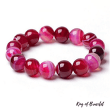 Bracelet en Agate Rose - King of Bracelet
