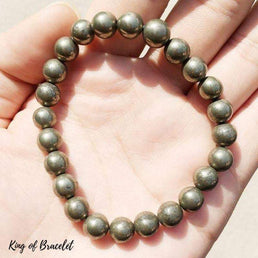 Bracelet en Pyrite - King of Bracelet