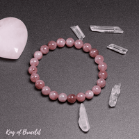 Bracelet en Quartz Rose Qualité AAA+ - King of Bracelet