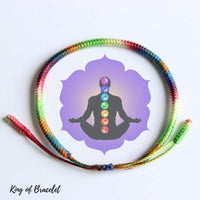 Bracelet Tibétain 7 Chakras - King of Bracelet