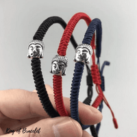 Bracelet Tibétain en Cordon - 3 Couleurs - King of Bracelet