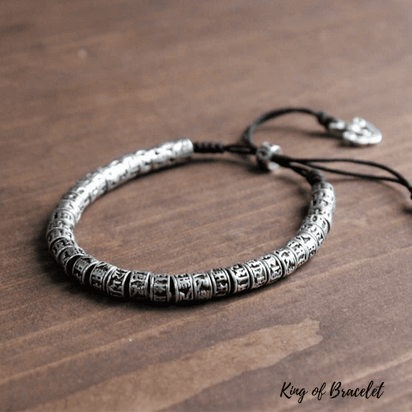 Bracelet Bouddhiste Tibétain Ajustable - King of Bracelet