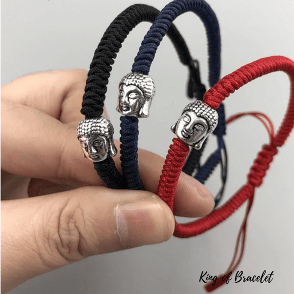 Bracelet Bouddhiste en Cordon - 3 Couleurs - King of Bracelet