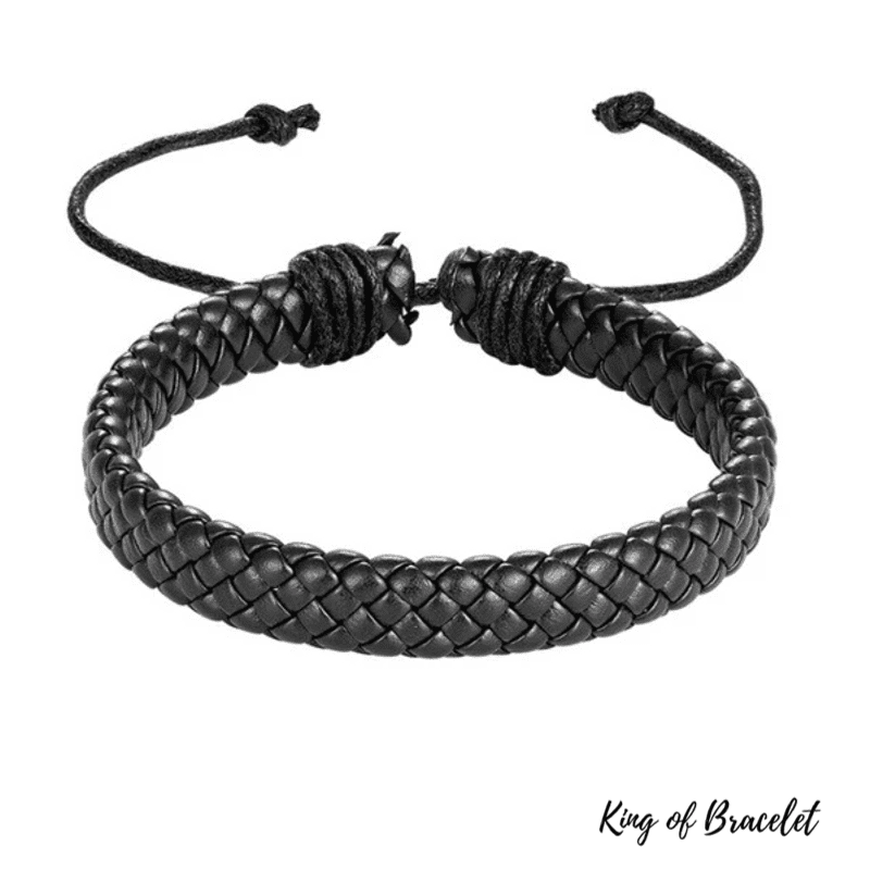 Bracelet Tibétain en Cuir - King of Bracelet
