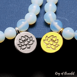 Bracelet Mala Tibétain en Opalite - King of Bracelet
