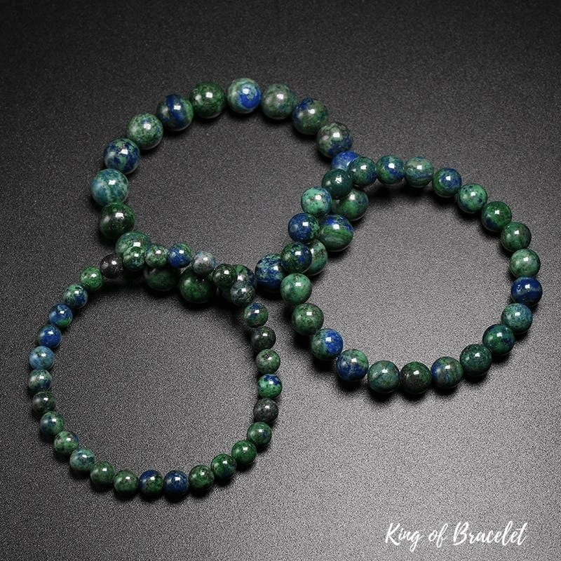 Bracelet en Chrysocolle Qualité AAA+ - King of Bracelet