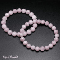 Bracelet en Kunzite Rose | Qualité AAA+ | King of Bracelet