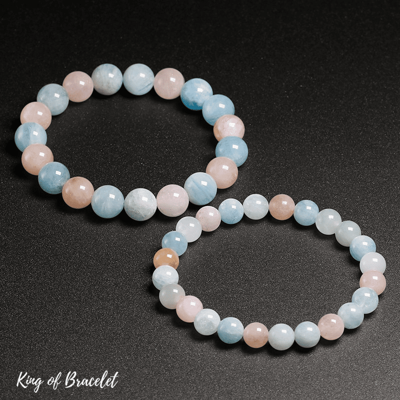 Bracelet en Morganite Qualité AAA+ - King of Bracelet
