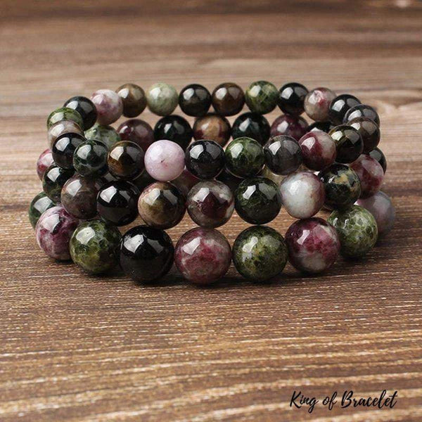 Bracelet en Tourmaline Multicolore - King of Bracelet