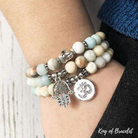 Lot de 3 Bracelets en Amazonite - King of Bracelet