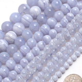 Perles Agate Blue Lace - King of Bracelet