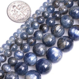 Perles Rondes Cyanite - King of Bracelet