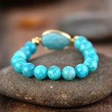 Bracelet en Perles Amazonite 10MM - King of Bracelet