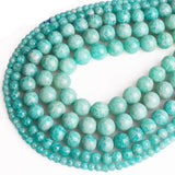 Perles Rondes Amazonite - King of Bracelet