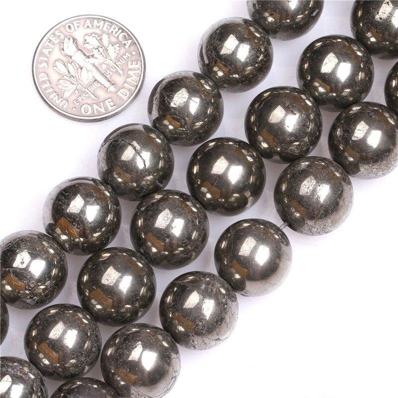 Perles Rondes Pyrite - King of Bracelet