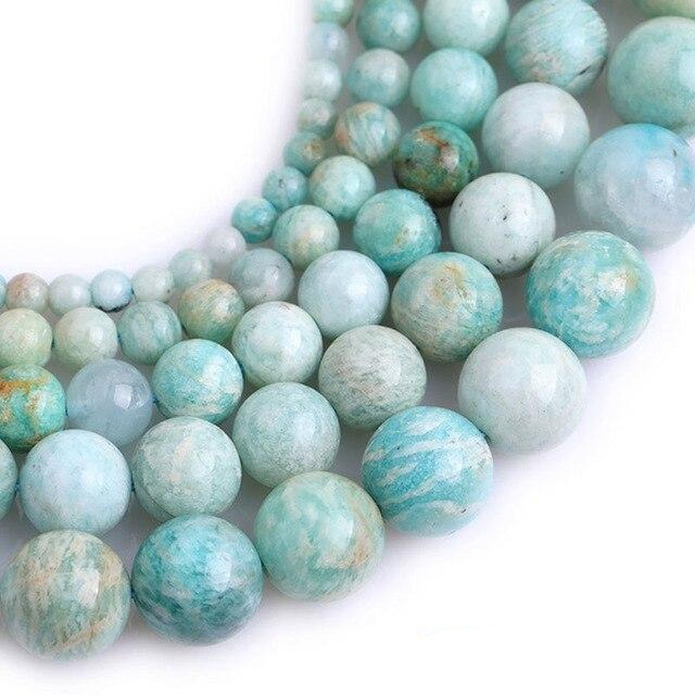 Perles Amazonite Africaine - King of Bracelet