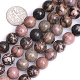 Perles Rondes Rhodonite - King of Bracelet
