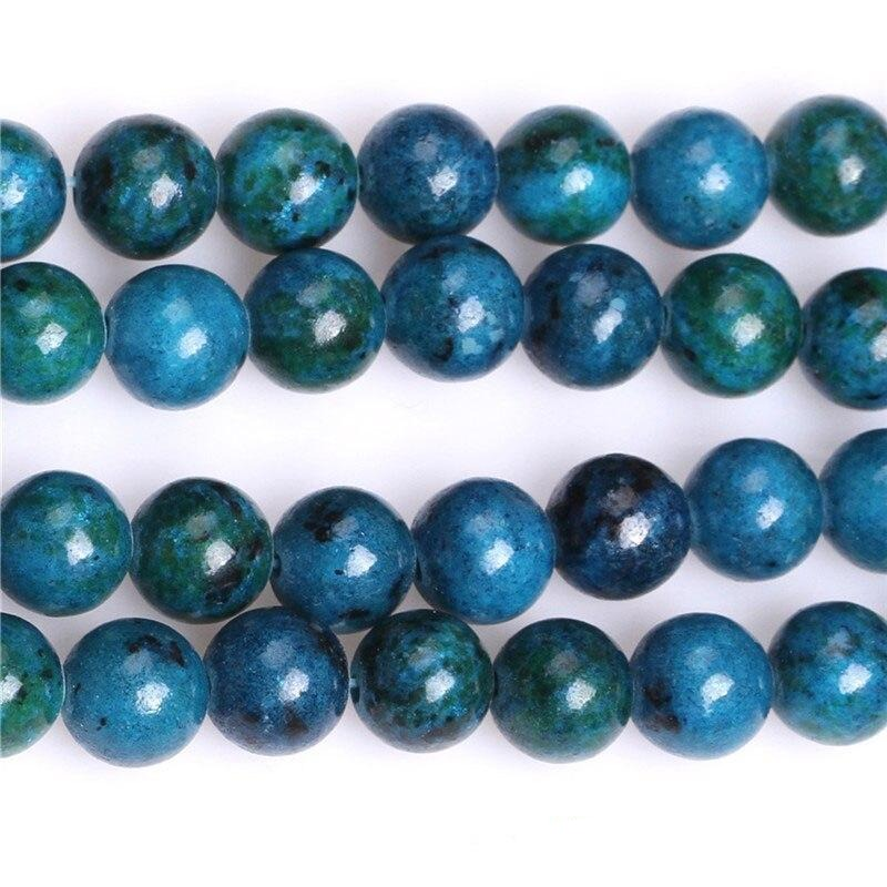 Perles Rondes Chrysocolle 8MM