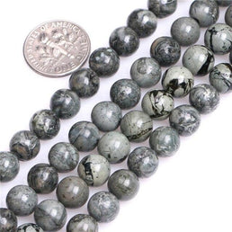 Perles Jaspe Gris - King of Bracelet