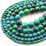 Perles Rondes Chrysocolle - King of Bracelet