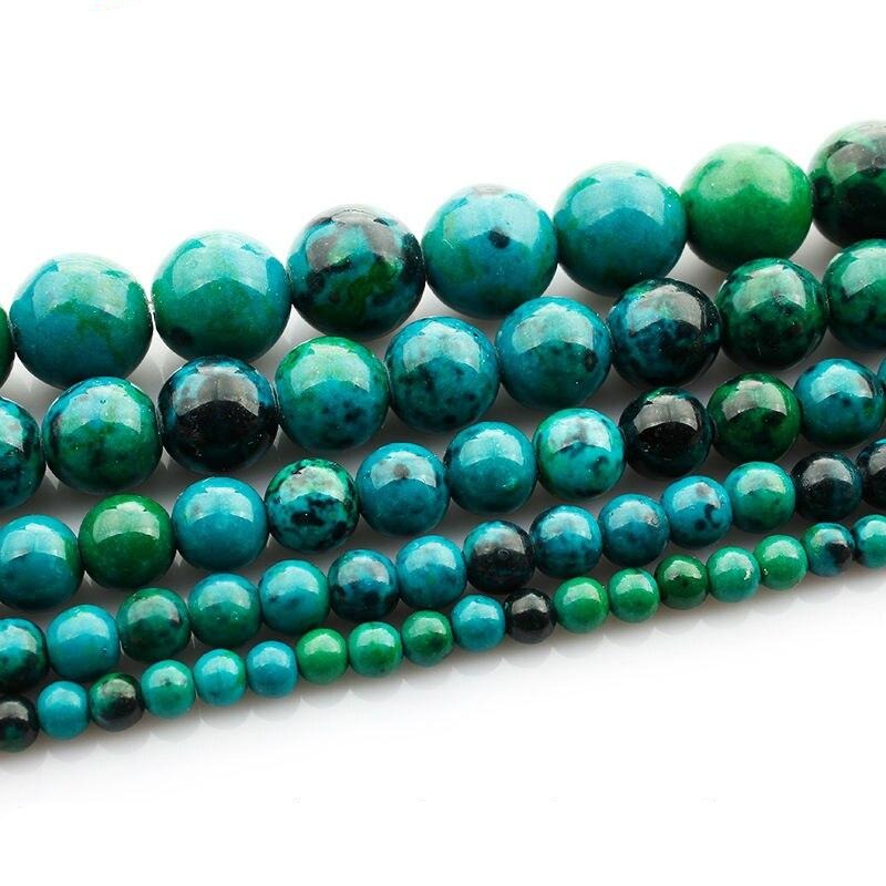 Perles Chrysocolle - King of Bracelet