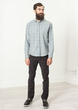 Paul Shirt in Grey Flannel