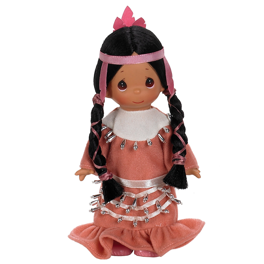 Ten Little Indians, 5 Little Indian, 7 inch doll