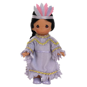 Ten Little Indians, 6 Little Indian, 7 inch doll