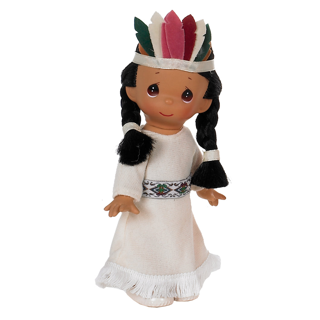 Ten Little Indians,10 Little Indian, 7 inch doll