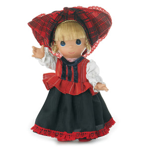 Hungary Children of the World, Hajna, 9 inch doll
