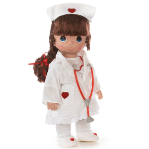 Loving Touch Nurse, Brunette,  12 inch doll