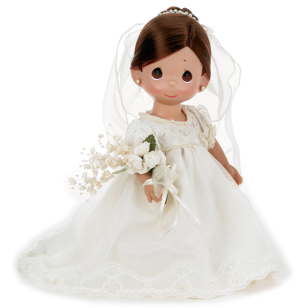 Enchanted Dreams Bride Brunette, 12 inch doll