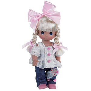 "Cute as a Button - 12"" Doll"