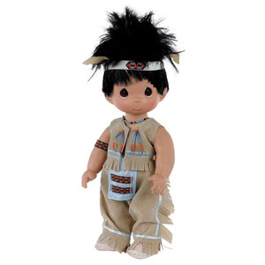 Runs with Buffalo, 12 inch doll