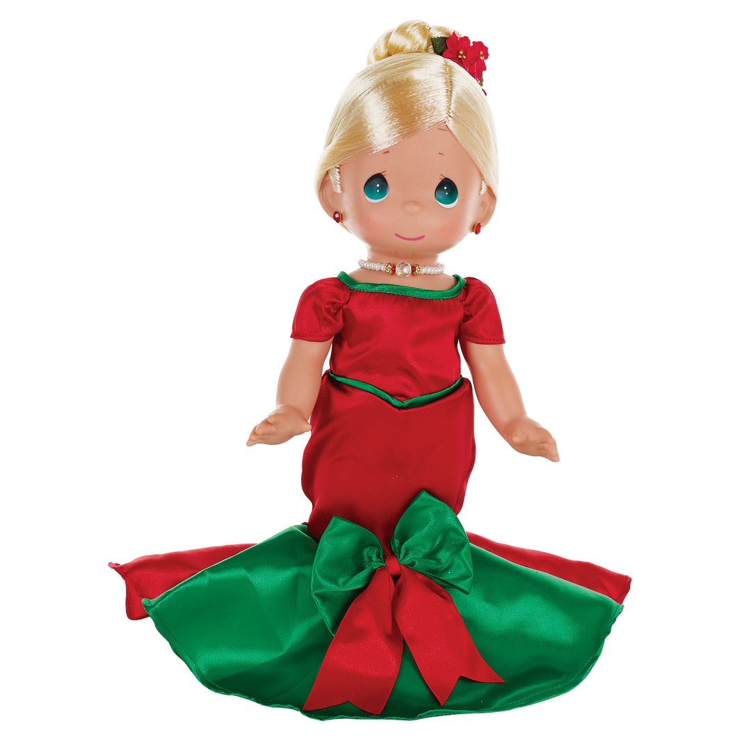 Dancing into The Christmas Spirit, Blonde, 12 inch doll