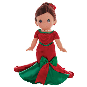 Dancing into The Christmas Spirit, Brunette, 12 inch doll