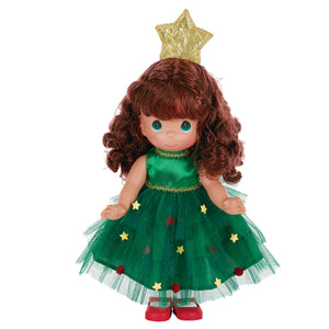"Tree-Mendously Precious Brunette - 12"" Doll"