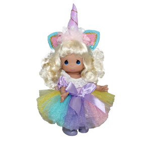 "Unicorn Wishes and Dreams - Blonde - 9"" Doll"