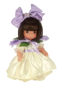 "Bouquet of Friendship Orchid - 12"" Doll"
