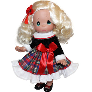 "Have A Heart-Warming Christmas - 12"" Doll"