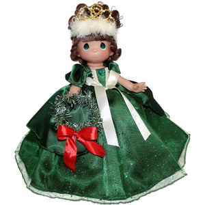 "Make The Holidays Sparkle & Shine - Brunette - 12"" Doll"