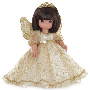 "Angelic Whispers from Heaven Brunette -16"" Doll"