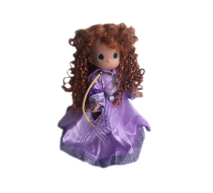 "Spring Purple Princess  - 12"" Doll"