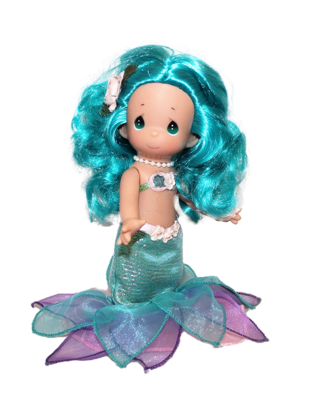 Mermaid Wishes & Starfish Kisses - Teal - 9 Inch Doll