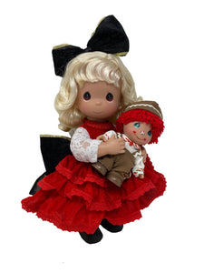 A Dolly for Christmas - 12 inch doll