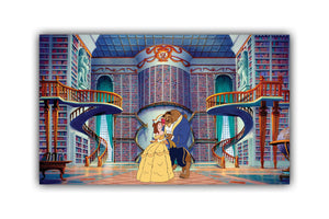 Beauty & The Beast Canvas Print