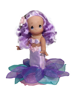 Mermaid Wishes & Starfish Kisses - Purple - 9 Inch Doll